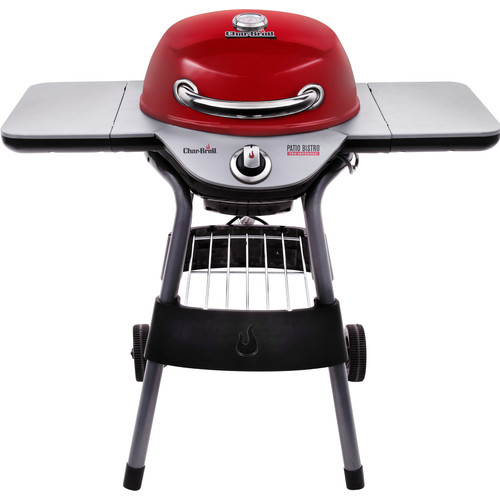 Char-Broil 40'' Patio Bistro TRU-Infrared Portable Electric Grill with Side Shelves by