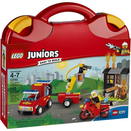Click here for LEGO Juniors Fire Patrol Suitcase 10740 prices