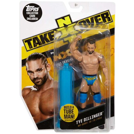 Tube Map (WWE Wrestling NXT Takeover Tye Dillinger Action Figure [Build A Tube Man!])