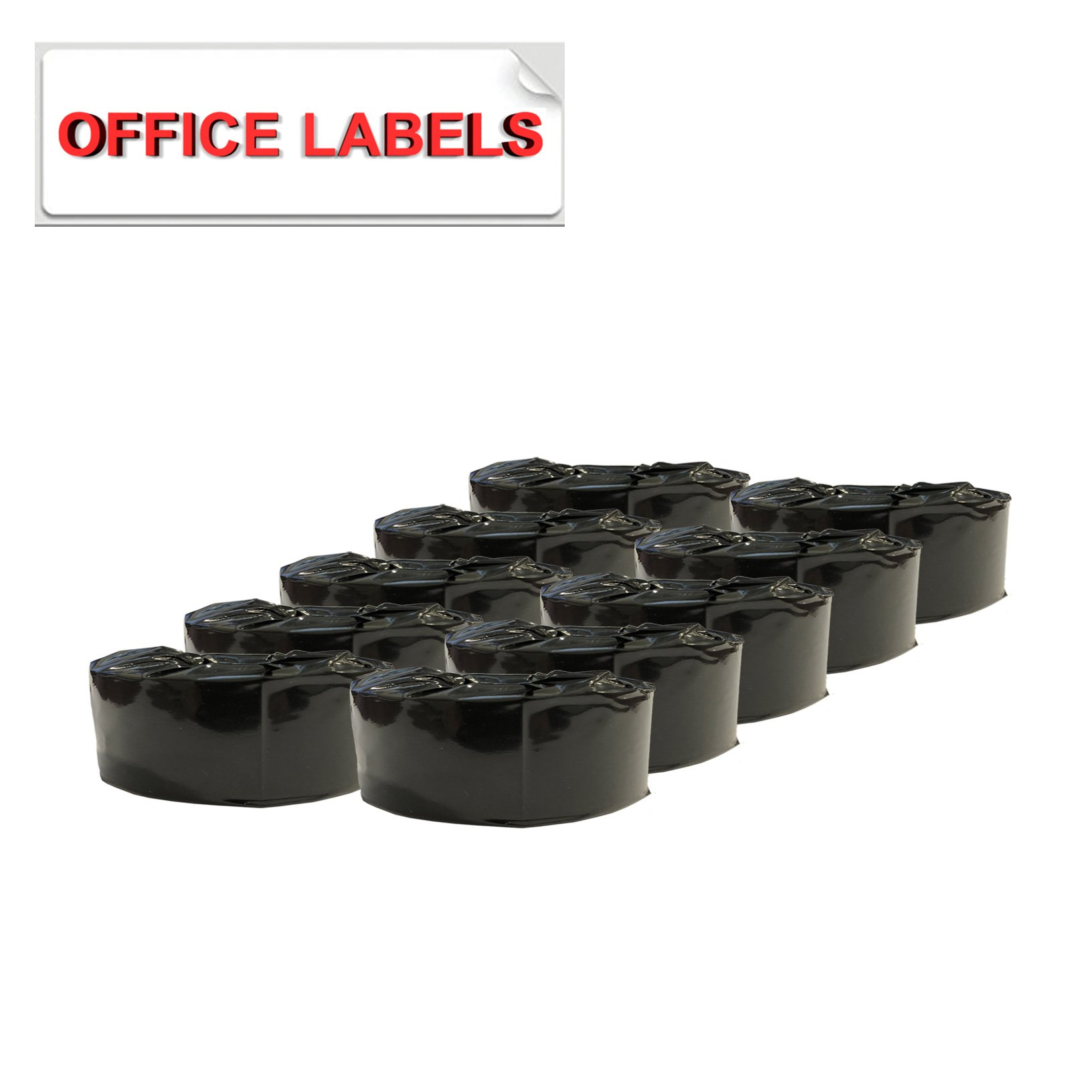 "10 Rolls of DK-1201 Compatible Address Labels for BROTHER 1-1/7"" X 3-1/2"" (29mm x 90.3mm) Without Holder - image 2 de 3"