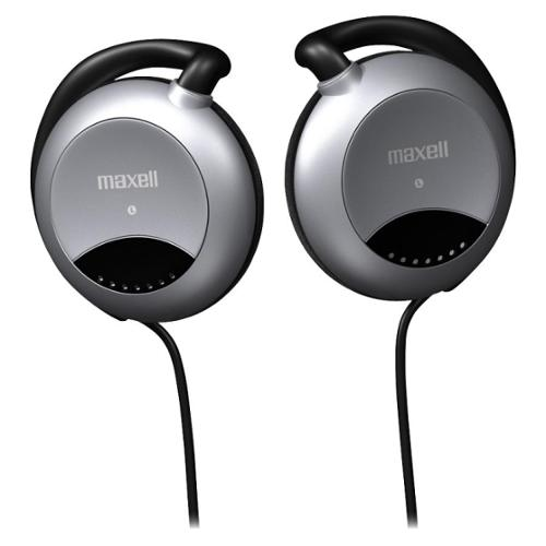 Maxell EC-150 Stereo Earphone - Black - Wired - 32 Ohm - 20 Hz 22 kHz - Silver Plated