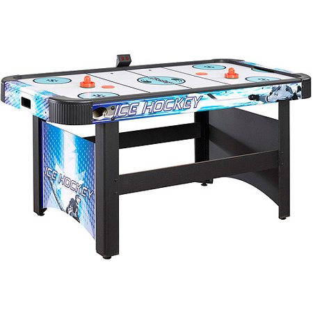 Hathaway face off 5 39 air hockey table with electronic scoring - Tournament air hockey table ...