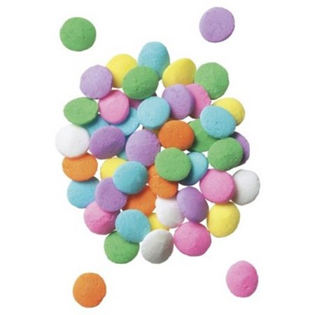 Cookie Confetti Sprinkles (Small Pastel Sequins Confetti Sprinkles - 8 oz )