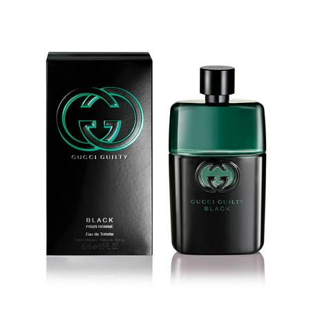 Gucci Black Stripes - Gucci Guilty Black Pour Homme 3 oz Eau de Toilette Spray for Men