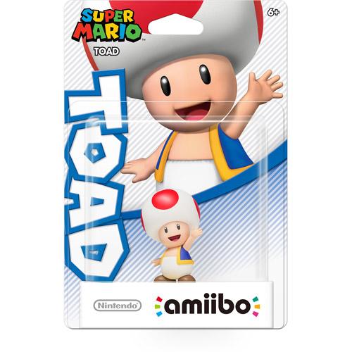 Toad Super Mario Series Amiibo (Nintendo Wii U)