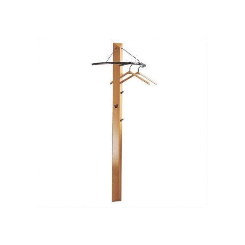 Peter Pepper Artform Trio Triangular Natural Beechwood 3 Hook Coat Rack