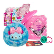Pikmi Pops Cheeki Puffs, Medium Scented Shimmer Plush Toy, Styles May Vary