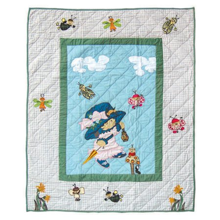 "Image of Patch Magic Doll Quilt Twin 65""X 85"""