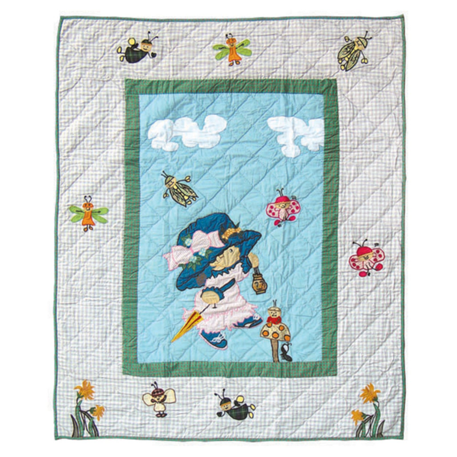 "Patch Magic Doll Quilt Twin 65""X 85"""