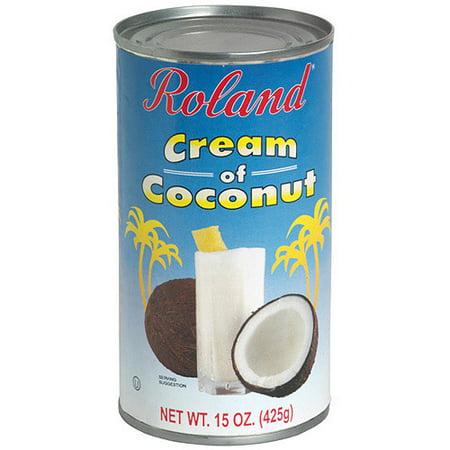 Roland Cream Of Coconut, 15 oz (Pack of 12) (Roland Coconut)
