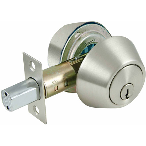 Ultra 43626 Satin Nickel Double Cylinder Deadbolt Lock