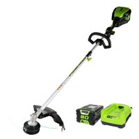 Greenworks 16-Inch PRO 80V Cordless String Trimmer (Attachment Capable), Battery and Charger Included 2101102
