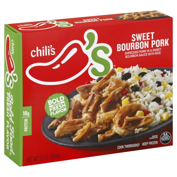 Chili's® Sweet Bourbon Pork with Rice 10 oz. box