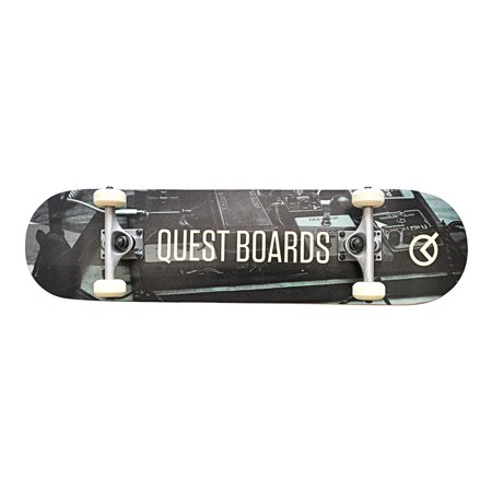 "Quest Headliner 32"" Skateboard Cruiser Longboard"