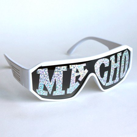 da5ab47cdd6 Macho Man White Macho Sunglasses Randy Savage Costume Wrestler Party WWF -  Walmart.com