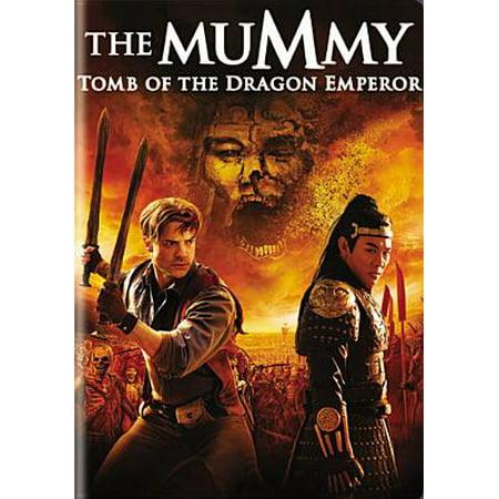 The Mummy: Tomb of the Dragon Emperor (DVD)](Halloween Mummy Cartoon)