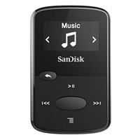 SanDisk 8GB Clip Jam MP3 Player Black SDMX26-008G-G46K (Certified Refurbished)