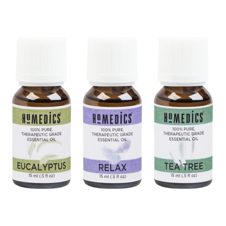 Homedics Armh eo15ap2 Relax Sampler, 3 Pk (lemon, Peppermint & Energize Blend)