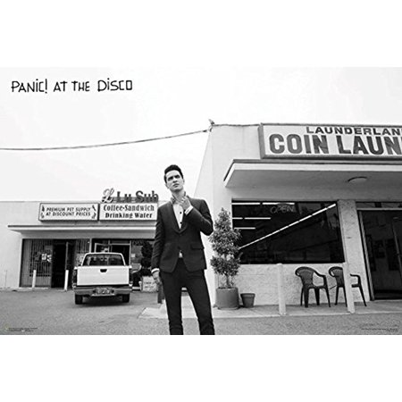 Panic at the Disco - Laundromat [Brendon Urie] 36x24 Music Art Print (Printmusic Poster)
