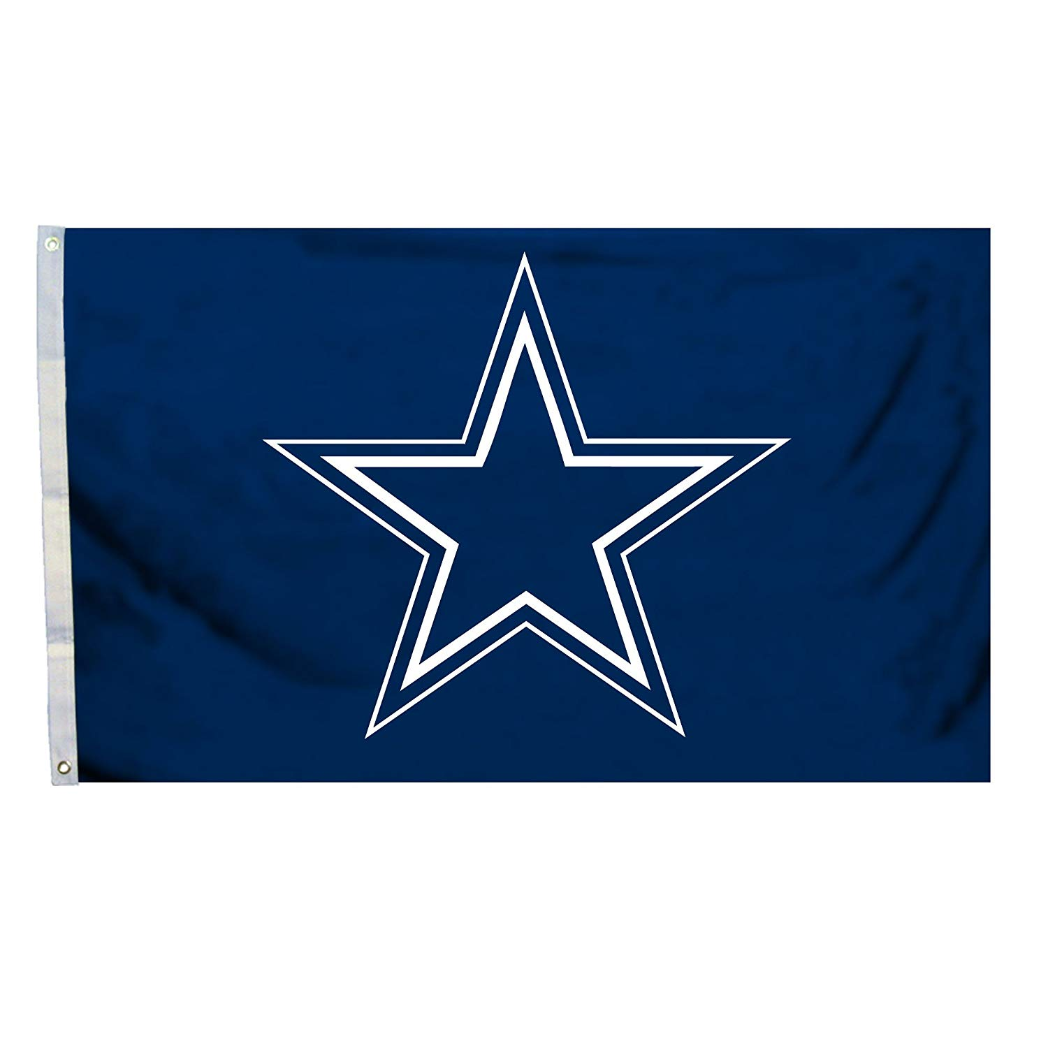 NFL Dallas Cowboys Logo Only 3-by-5 Feet Flag with Grommets, 100% Polyester By Fremont Die