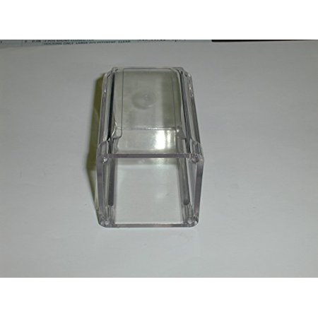 8 Pin Octal Base - HOUSING ONLY LATGE POLYSTYRENE CLEAR, USE W 681 OCTAL OR 683 11 PIN HEADER ( 1 EACH) - 679
