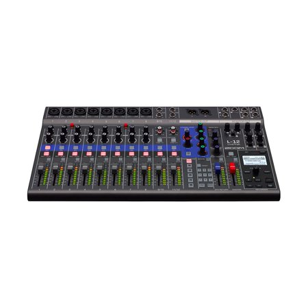 Zoom L12 LiveTrak 12 Channel Professional Digital Mixer and Multitrack (12 Channel Analog Mixer)