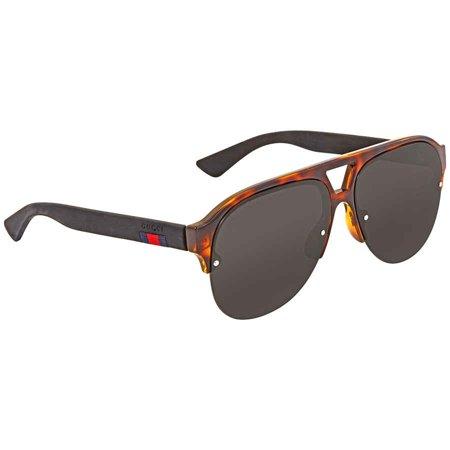 Gucci Grey Aviator Men's Sunglasses GG0170S 003 59