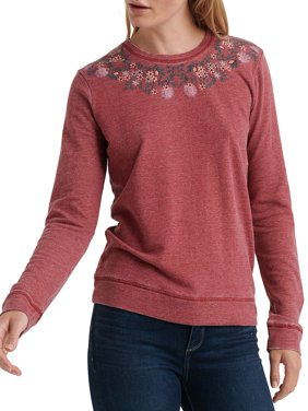 Embroidered Pullover