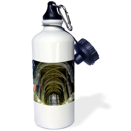 3Drose New York  West Point Academy  Army Military Collage  Cadet Chapel   Sports Water Bottle  21Oz