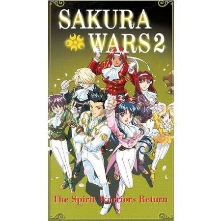 Sakura Wars 2 The Spirit Warriors Return Anime VHS Tape ()