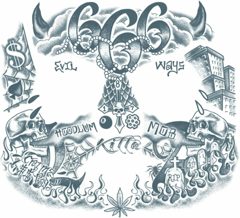 Tattoo 666 Tattoos and