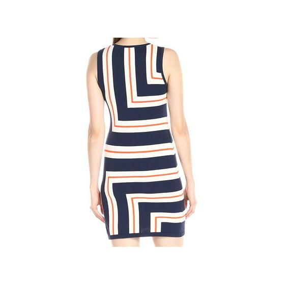 aba238f0aff Trina Turk - Trina Turk NEW Blue Womens Size Large L Geo-Striped ...