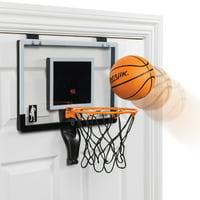 Majik Buzzer Beater Door Hanging Basketball; Pro-Style Backboard and Breakaway Rim