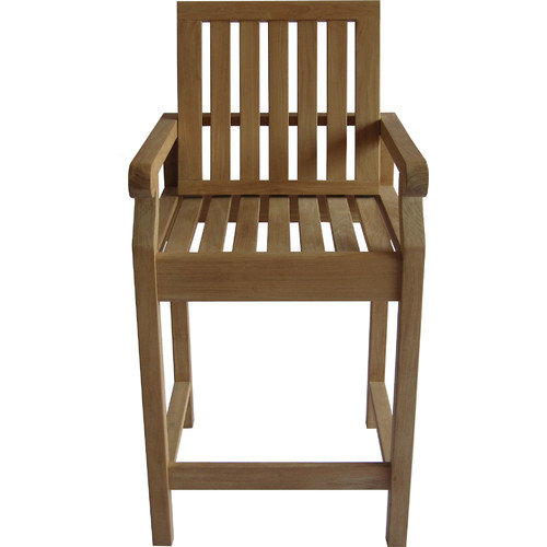 Arbora Teak 30'' Bar Stool