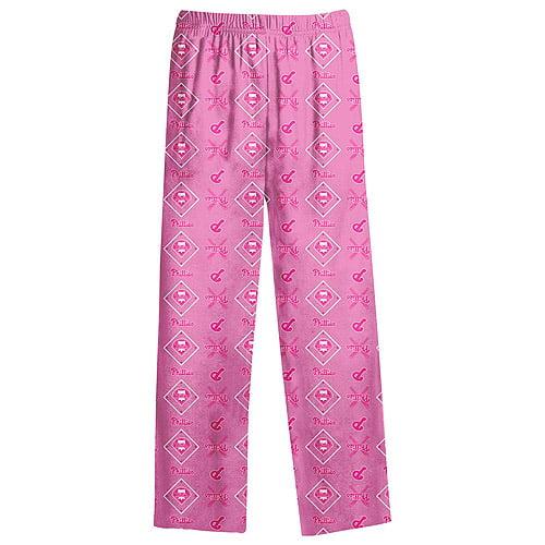 Philadelphia Phillies Youth Girls Printed Pants - Pink