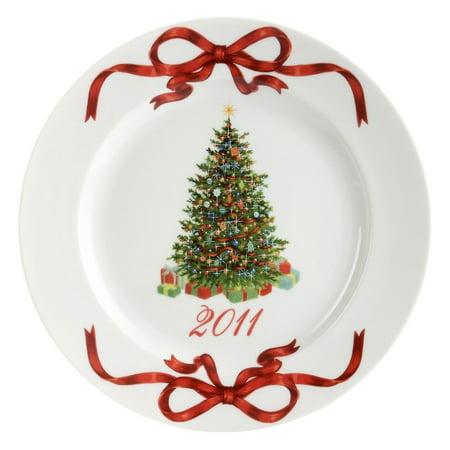 Martha Stewart Collection Dinnerware, Holiday Garden 2011 Tree Plate - Halloween Dishes Martha Stewart