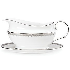 Lenox Lace Couture Sauce Boat & Stand