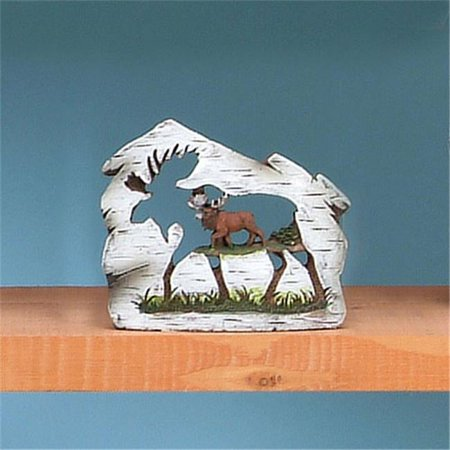 3.25 In. Moose Carving, Extra Small ()
