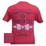Alabama Crimson Tide Pattern Bow Tie T-Shirt