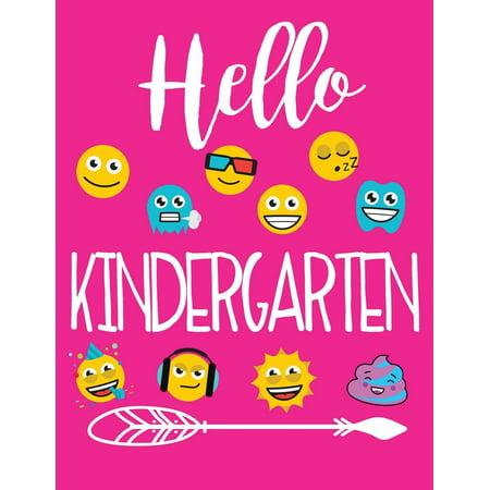 Hello Kindergarten: School Composition Notebooks (Paperback)](Primary Composition Notebooks)