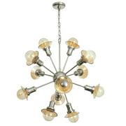 Joseph Allen 12-Light Sputnik Chandelier