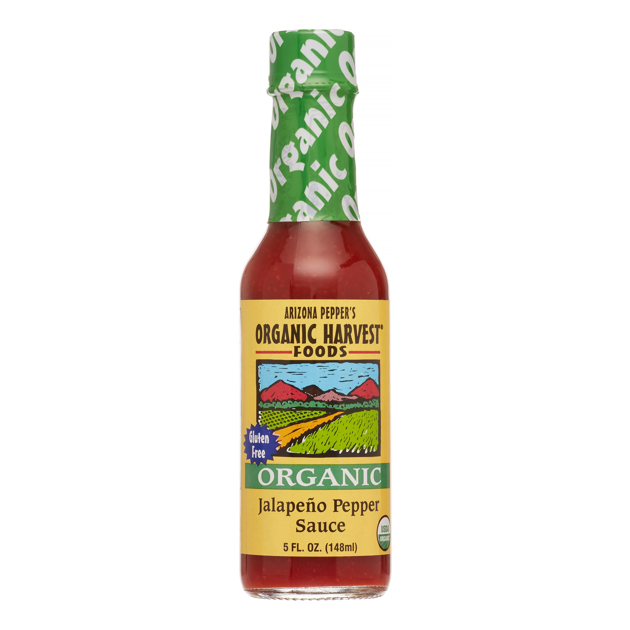 Arizona Pepper's Organic Harvest Foods Organic Jalapeno Pepper Sauce, 5 Fl Oz by Organic Harvest Foods