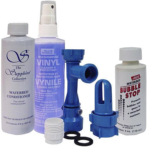 Blue Magic Waterbed Maintenance Kit Deluxe Pack Walmart Com