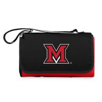 Miami University RedHawks Outdoor Picnic Blanket Tote - Red - No Size