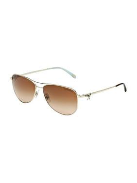78cd3717b51 Product Image Tiffany TF3044-60014S-58 Silver Aviator Sunglasses