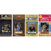 CandICollectables PELICANS4TS NBA New Orleans Pelicans 4 Different Licensed Trading Card Team Sets