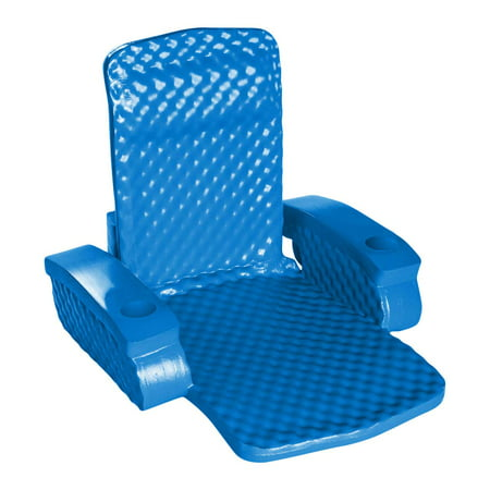 TRC Recreation Super Soft Baja Swimming Pool Folding Chair Foam Lounge Float