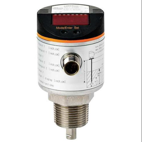 IFM LR8000 Level Sensor, G3/4 NPT, 4x NO/NC