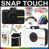 Polaroid Snap Touch Instant Camera Gift Bundle + ZINK Paper (30 Sheets) + Snap Themed Scrapbook + Pouch + 6 Edged Scissors + 100 Sticker Border Frames + Gel Pens + Hanging Frames + Accessories Polaroid Snap Touch Instant Camera Gift Bundle + ZINK Paper (30 Sheets) + Snap Themed Scrapbook + Pouch + 6 Edged Scissors + 100 Sticker Border Frames + Gel Pens + Hanging Frames + Accessories