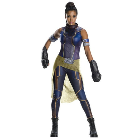 Marvel Black Panther Movie Womens Deluxe Shuri Halloween Costume (Halloween 1890s)